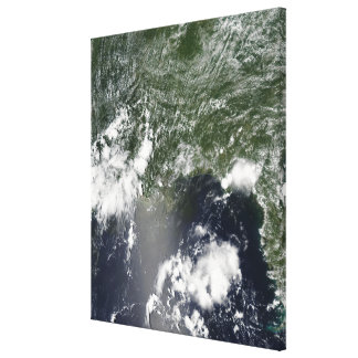 Satellite view of the Gulf of Mexico Canvas Print