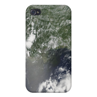 Satellite view of the Gulf of Mexico iPhone 4 Covers