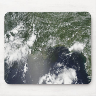 Satellite view of the Gulf of Mexico Mouse Pad