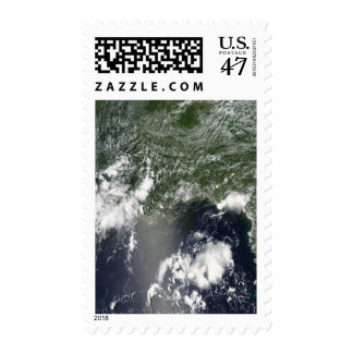 Satellite view of the Gulf of Mexico Postage