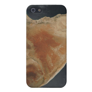 Satellite view of the Horn of Africa iPhone SE/5/5s Case