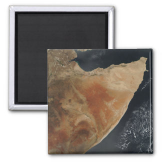 Satellite view of the Horn of Africa Magnet