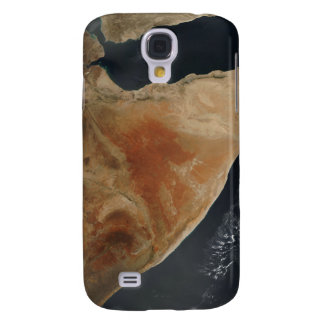 Satellite view of the Horn of Africa Samsung S4 Case