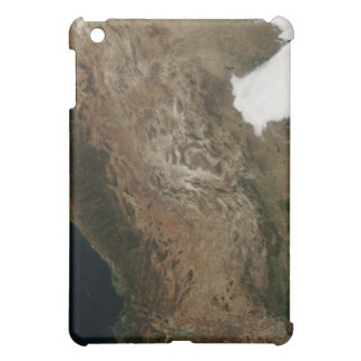 Satellite view of the landscape of central Mexi Case For The iPad Mini