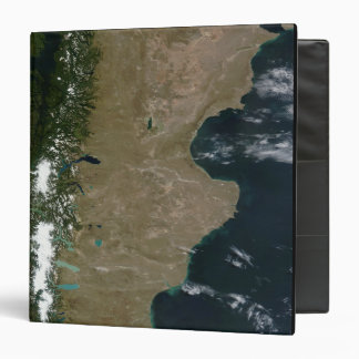 Satellite view of the Patagonia region Binder