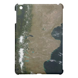 Satellite view of the Patagonia region Cover For The iPad Mini