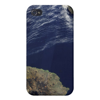 Satellite view of the Prince Edward Islands Covers For iPhone 4