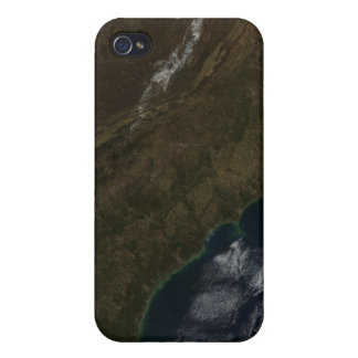 Satellite view of the Southeastern United State iPhone 4 Covers