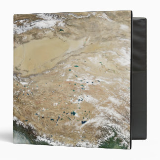 Satellite view of the Tibetan Plateau 3 Ring Binders