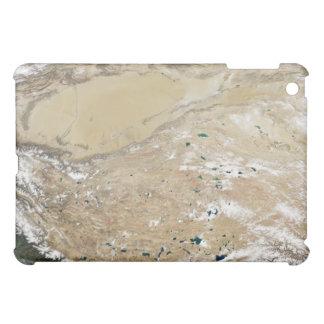 Satellite view of the Tibetan Plateau Cover For The iPad Mini