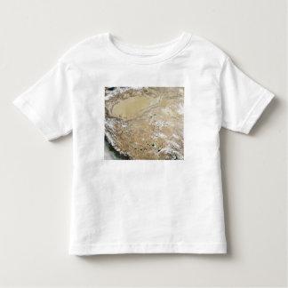 Satellite view of the Tibetan Plateau Toddler T-shirt