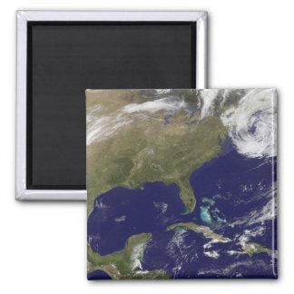 Satellite view of the United States East Coast Fridge Magnets