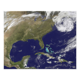 Satellite view of the United States East Coast Photograph