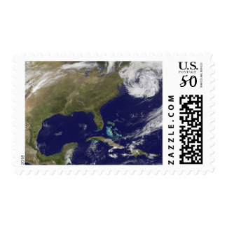 Satellite view of the United States East Coast Postage