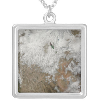 Satellite view of the western United States Pendant