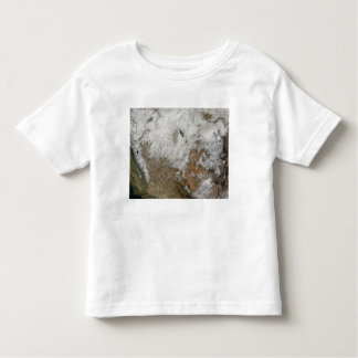 Satellite view of the western United States Toddler T-shirt