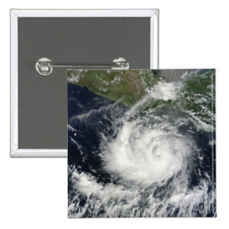 Satellite view of Tropical Storm Darby Button