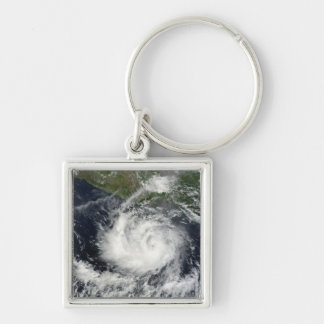 Satellite view of Tropical Storm Darby Keychain