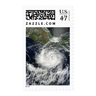 Satellite view of Tropical Storm Darby Postage