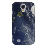 Satellite view of volcanic fog galaxy s4 case