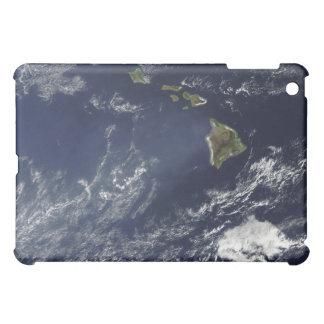 Satellite view of volcanic fog iPad mini case