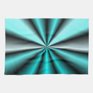 Satén brillante del trullo toalla