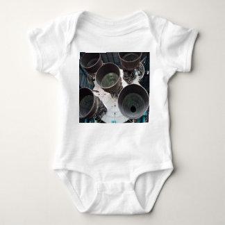 Satern V Rocket Nozzles Baby Bodysuit