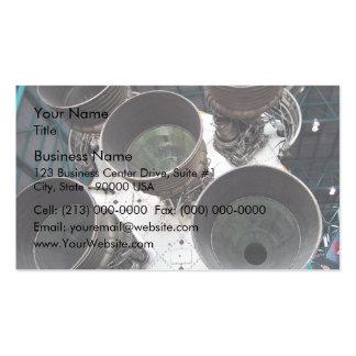 Satern V Rocket Nozzles Business Card
