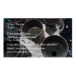 Satern V Rocket Nozzles Business Card Template