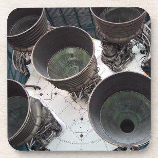Satern V Rocket Nozzles Drink Coasters