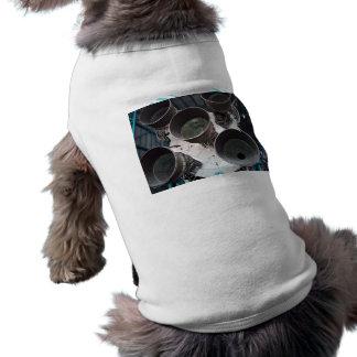 Satern V Rocket Nozzles Dog T-shirt