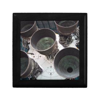 Satern V Rocket Nozzles Keepsake Box