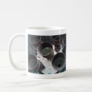 Satern V Rocket Nozzles Coffee Mug