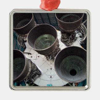 Satern V Rocket Nozzles Christmas Ornament