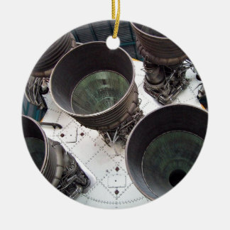 Satern V Rocket Nozzles Ornaments