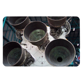 Satern V Rocket Nozzles Flexible Magnets