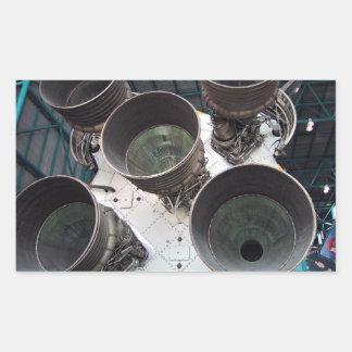 Satern V Rocket Nozzles Stickers