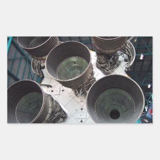 Satern V Rocket Nozzles Sticker