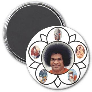 Sathya Sai Baba and Sarva Dharma on Magnet