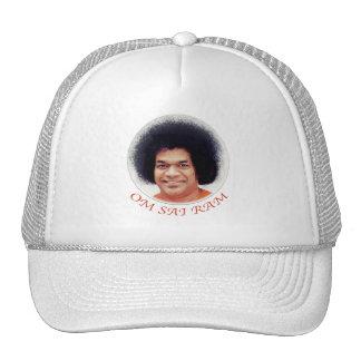 Sathya Sai Baba Cap with OM SAI RAM Trucker Hat