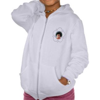 Sathya Sai Baba Fleece Zip Girl Hoodie