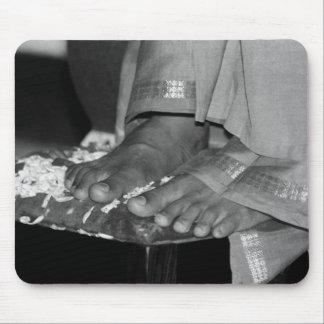 Sathya Sai Baba Lotus Feet on Mousepad