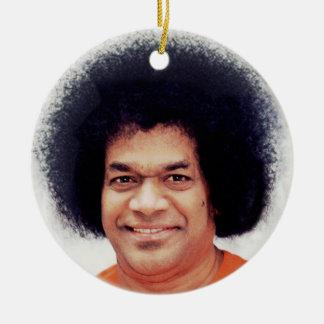 Sathya Sai Baba Ornament Decor Round