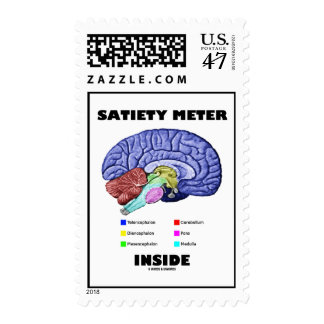Satiety Meter Inside (Anatomical Brain) Postage