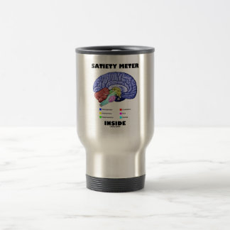 Satiety Meter Inside (Anatomical Brain) Travel Mug