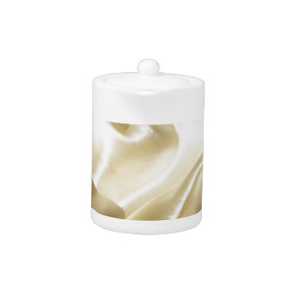 Satil, Silk, Fabric, Rich, Lovely, Shine, Bright Teapot