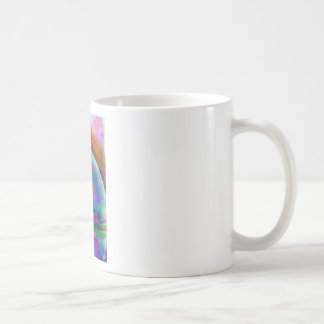 Satin abstract images coffee mugs