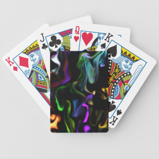 Satin Electric Bicycle Playing Cards