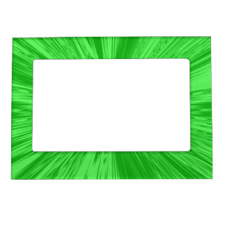 Satin- Green Magnetic Frame