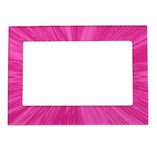 Satin- Hot Pink Magnetic Frame